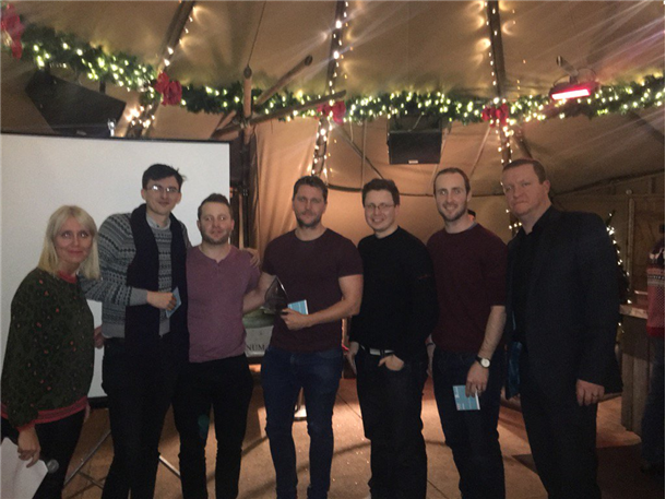 Kintec take part in the Brookson Accountancy 2016 quiz - and win!