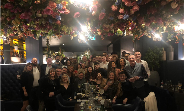 Kintec celebrate Christmas in style